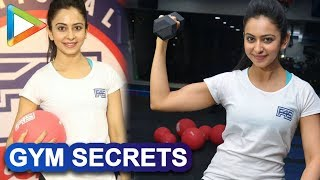 Rakul Preet REVEALS All Her Gym Secrets To Have A Perfectly Toned Body - HUNGAMA