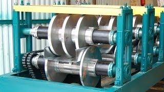 Оборудование для производства кабельных лотков