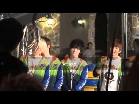 (fancam)Super Junior Service, Game etc @ Dream Team Recording