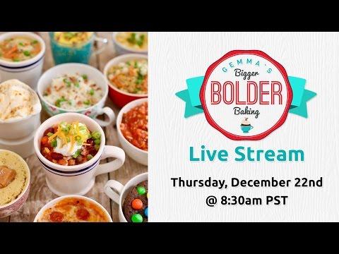 Live Stream Event Announcement & Mug Meals E-book Trailer