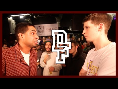 DON'T FLOP - Rap Battle - Jonny Storm Vs Charron