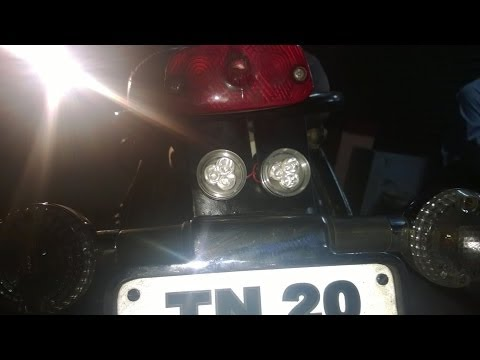 MOTORCYCLE LED | STROBE LIGHT | BRAKE LIGHTS