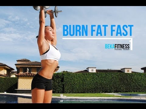 Fitness workout - burn fat fast