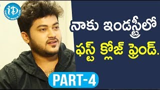 Actor Siddharath Varma Exclusive Interview Part #4 || Soap Stars With Anitha - IDREAMMOVIES