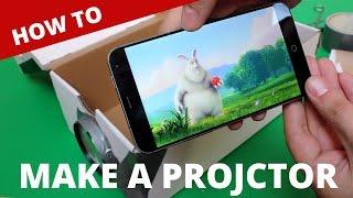 Vyrobte si vlastní dataprojektor z vašeho mobilu