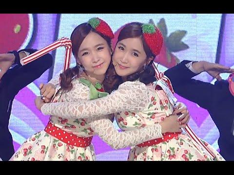 Strawberry Milk - OK, 딸기우유 - 오케이, Show Champion 20141029