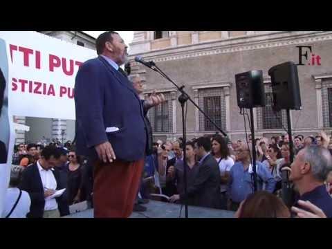 Video: KERMESSE A ROMA«Siamo tutti puttane» Ferrara va in piazza
