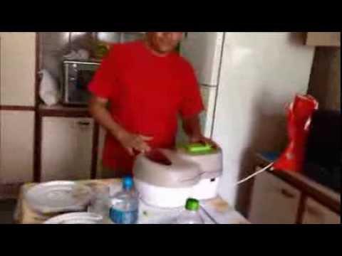 Teste da Fritadeira Sem Óleo ARNO - by Reginaldo Morikawa - Fritando Batatas