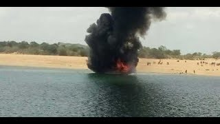 Papikondalu Tourist Boat Catches Blaze at Devipatnam | 80 Passengers Safely Escaped | iNews - INEWS