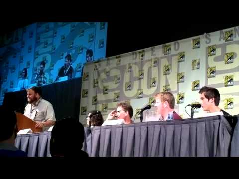 Comic-Con 2012 - Adventure Time panel part 4 - Q&A