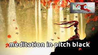 Royalty Free Meditation in Pitch Black:Meditation in Pitch Black