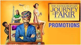 Dhanush's Hollywood Movie The Extraordinary Journey Of The Fakir Promotions - RAJSHRITELUGU