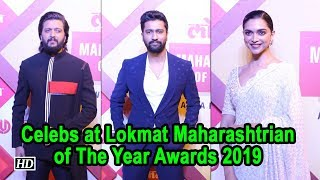 Celebs at Lokmat Maharashtrian Of The Year Awards 2019 - IANSLIVE