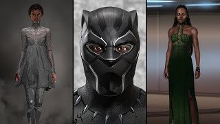 'Black Panther' Costumes Merge African History With Afrofuturism | NYT - THENEWYORKTIMES