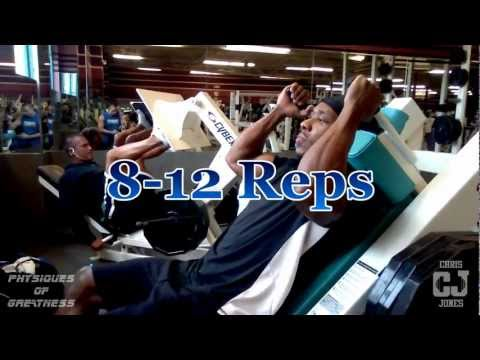 Mass Building Leg Routine By Natural Bodybuilder Chris Jones of Physiques Of Greatness