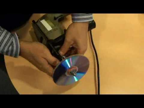 Recupera tus DVDs y CDs rayados con Pulidora Casera