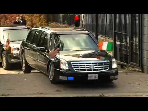 Barrack Obama też miewa przygody, jednak przy mniejszej prędkości
