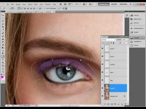 Tutorial Photoshop CS5 - Maquiagem digital Passo-a-Passo