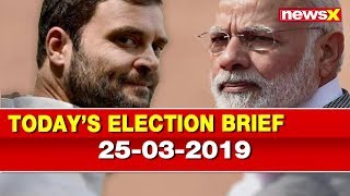 Lok Sabha Elections 2019: PM Narendra Modi vs Rahul Gandhi, BJP vs Congress, Analysis of the day - NEWSXLIVE