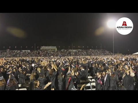 Class of 2012 Graduation Flash Mob - Full Version - Azusa Pacific University
