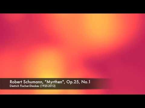 Fischer-Dieskau (Baritone) : Schumann, Widmung