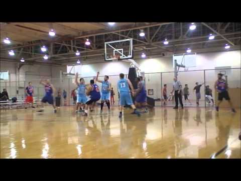 GURMINDER SINGH amazing passes and finishes - Megacity Basketball Toronto