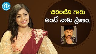 Am Die Hard Fan of Megastar Chiranjeevi - Serial Actress Anu Sri | Soap Stars With Anitha - IDREAMMOVIES