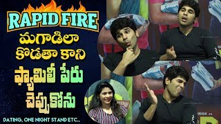 Rapid Fire - Allu Sirish on dating an actress, Mahesh Babu, NTR, Pawan Kalyan, Balakrishna & more - IGTELUGU