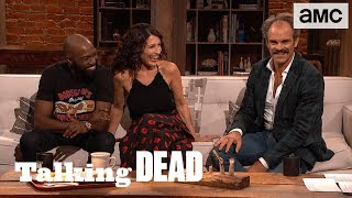 'Rick & Negan Will Team Up' Lisa Edelstein & Desus Nice Predictions Ep. 805 | Talking Dead - AMC