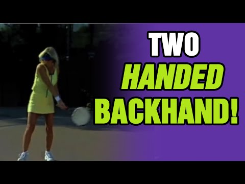 Tennis Lessons - How To Improve Your Two-Handed Backhand | Tom Avery Tennis 239.592.5920