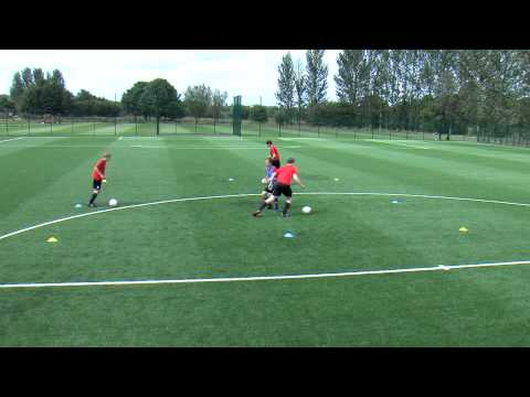 Coerver Coaching with Stoke City - Part 1