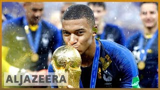 ️⚽️🇫🇷Mbappe's emotional visit to Bondy l Al Jazeera English - ALJAZEERAENGLISH