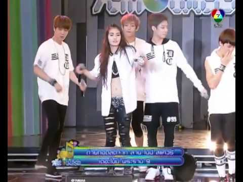 20131130 BTS - No More Dream (Dance ft. Kratae R-Siam) @ 7 See Concert