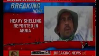 Kashmir: Pakistan resumes heavy shelling reported in Arnia - NEWSXLIVE