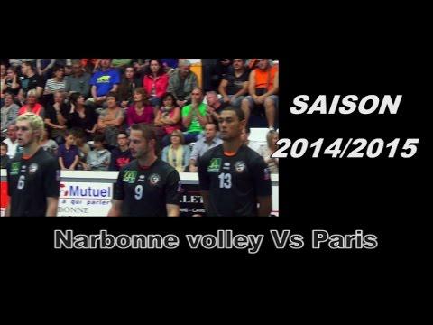 Narbonne Volley Vs Paris volley 2014 / 2015
