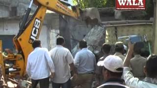 Road widening process in full swing at Sayeedabad - THENEWSWALA
