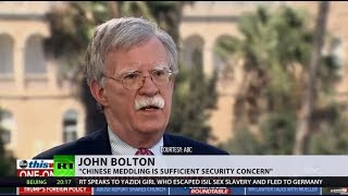 Not just Russians: China, North Korea & Iran may target US elections, Bolton says - RUSSIATODAY