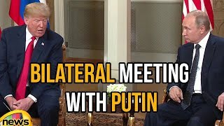 Trump has a Bilateral Meeting with the President of Russian Federation | Trump Speech | Mango News - MANGONEWS