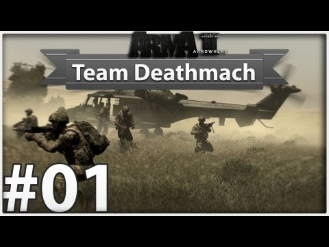 Arma II - Operation Arrowhead - TDM #01 SKILL!! :D [Full-HD/German]