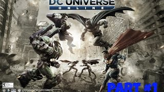 DC Universe Online part #1 : the beginning of the flash