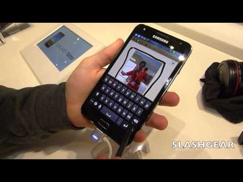 Samsung Galaxy Note hands-on -2Qv3coj2uc4