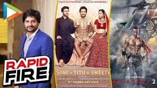Raazi Actor Jaideep Ahlawat's SUPERB Rapid Fire On Baaghi 2, Sonu Ke Titu Ki Sweety, Manoj Bajpayee - HUNGAMA