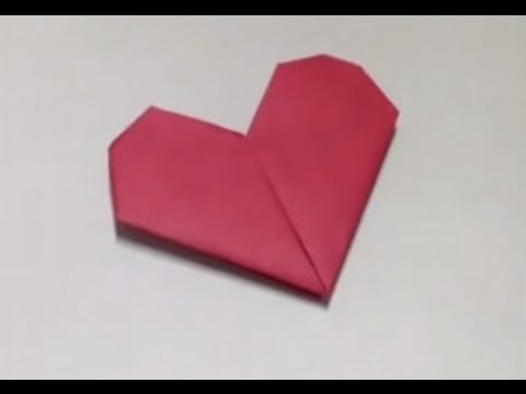 Related video - Origami boite coeur ...