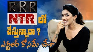 Eesha Rebba on RRR, NTR Biopic, Subramanyapuram, why she did Aravindha Sametha and more - IGTELUGU