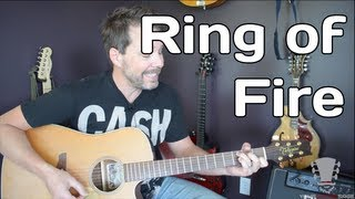 Ring of Fire Guitar Lesson