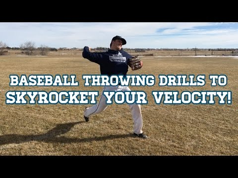 Baseball Throwing Drills to SKYROCKET YOUR VELOCITY!