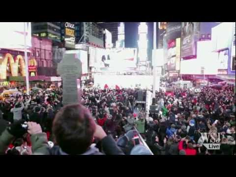 Obama Victory: Jubilation in Times Square at