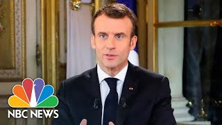French President Emmanuel Macron On Paris Riots: 'I Take My Share Of Responsibility' | NBC News - NBCNEWS