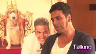 Entertainment: Akshay Kumar Exclusive Interview part I - HUNGAMA