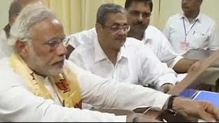 Narendra Modi files nomination papers in Varanasi - NDTV